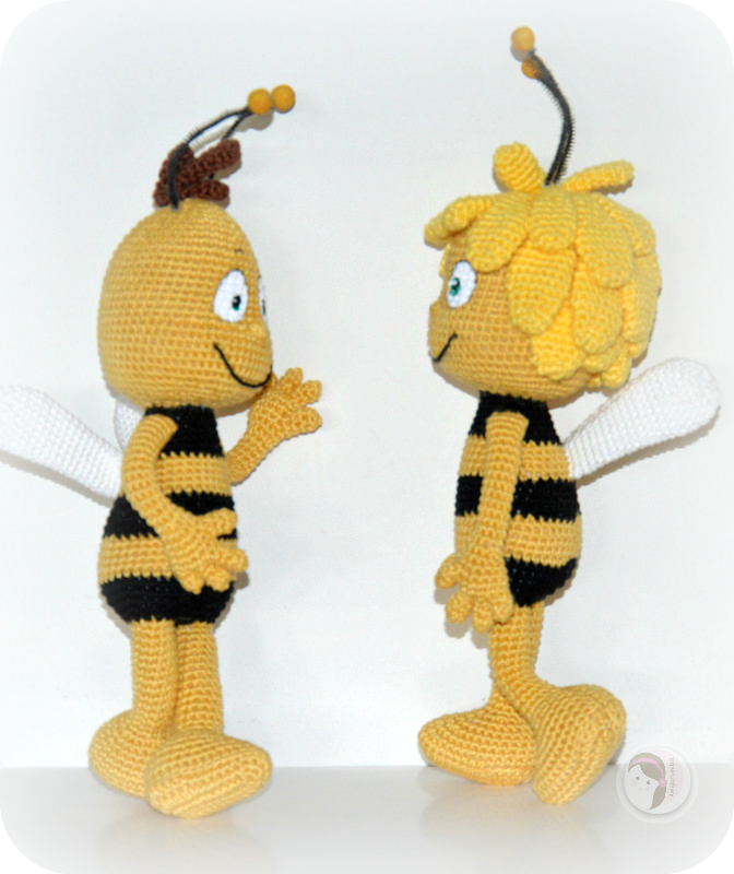 Maya The Bee And Willy Pattern Free By Amigurumibb Tessas 1st