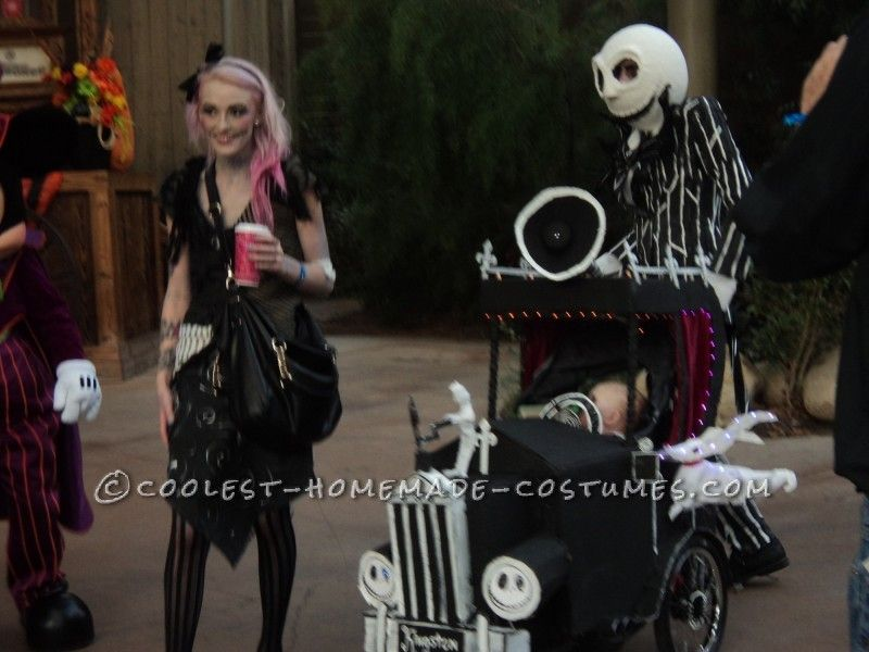 Homemade Nightmare Before Christmas Family Halloween Costume