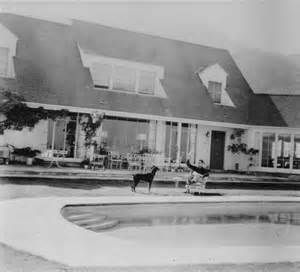 Errol Flynn S House In Hollywood Ca Exterior Old