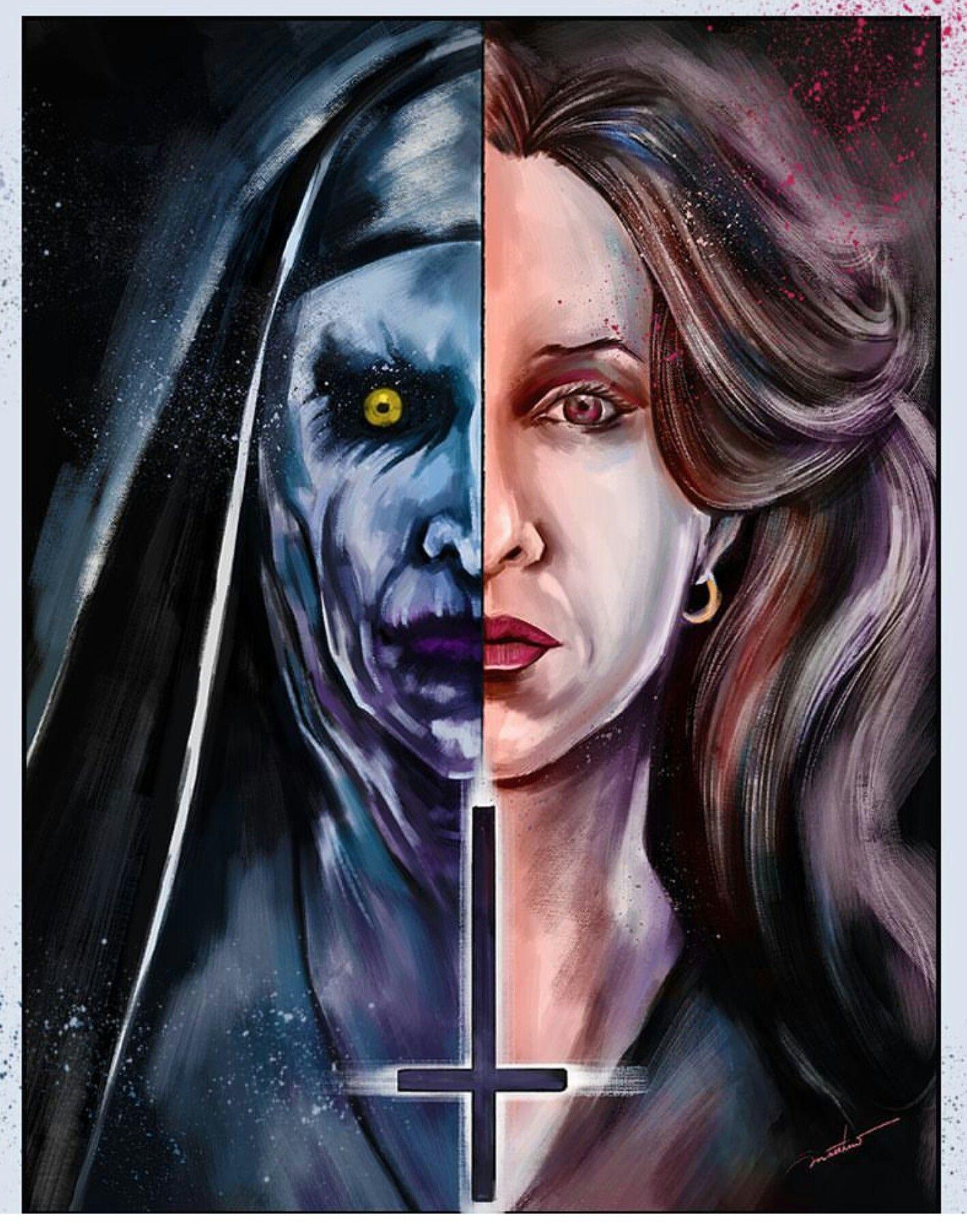 Matthew therrien the conjuring 2 horror movie art