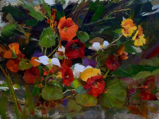 Richard schmid artist high resolution images google - High resolution watercolor flowers ...