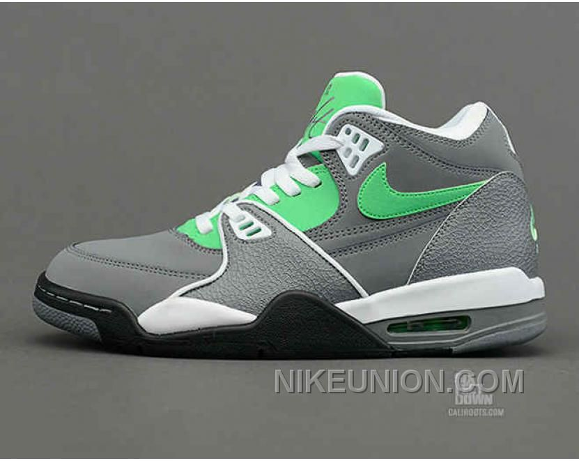 competitive price 37d01 37bf3 ... Buy Nike Air Flight 89 Authentic Cool Grey Poison Green White Black  Lastest from Reliable Nike ...