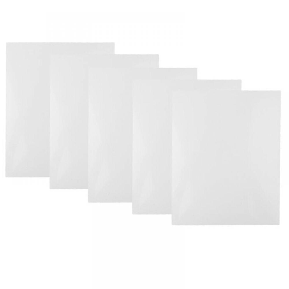 5pcs Abs Plate Model Styrene Sheet For Diy House Ship Aircraft 200 250 0 5mm Styrene Sheets Home Diy Styrene