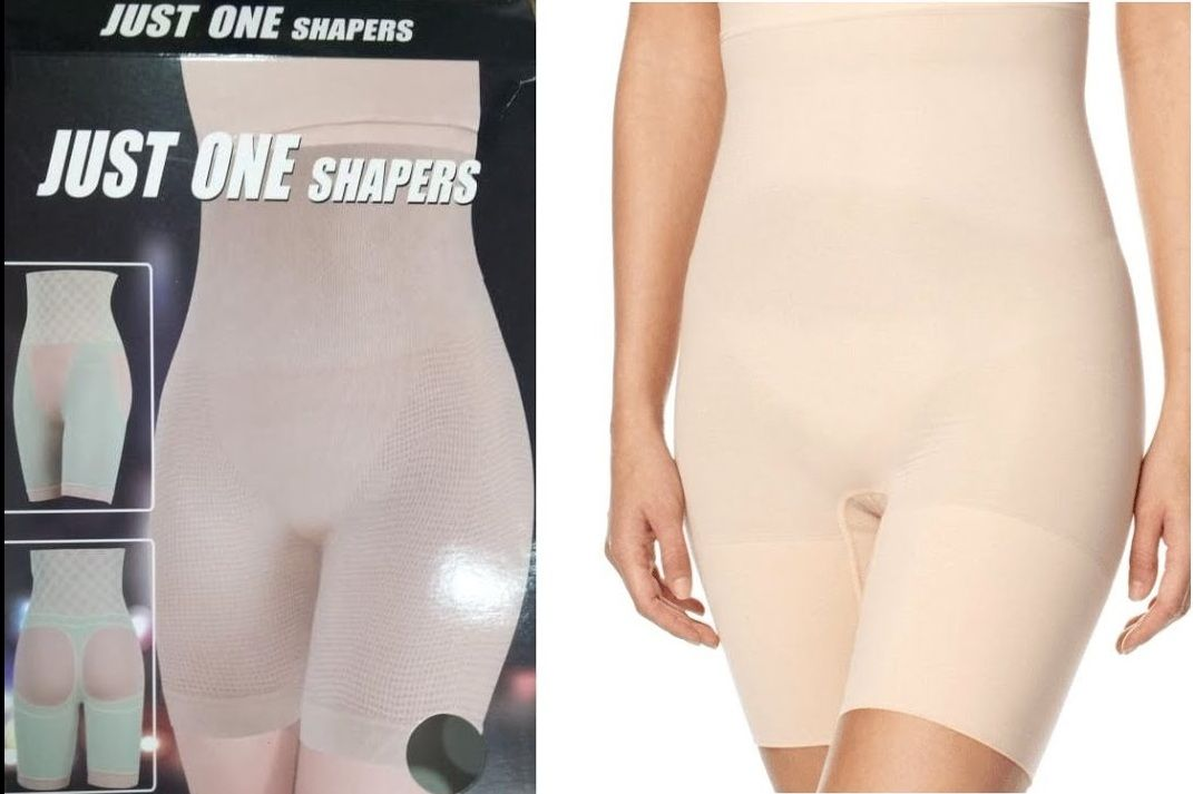 شورت Just One Shaper لتنحيف البطن والارداف Fashion Knee High Sock Shapers