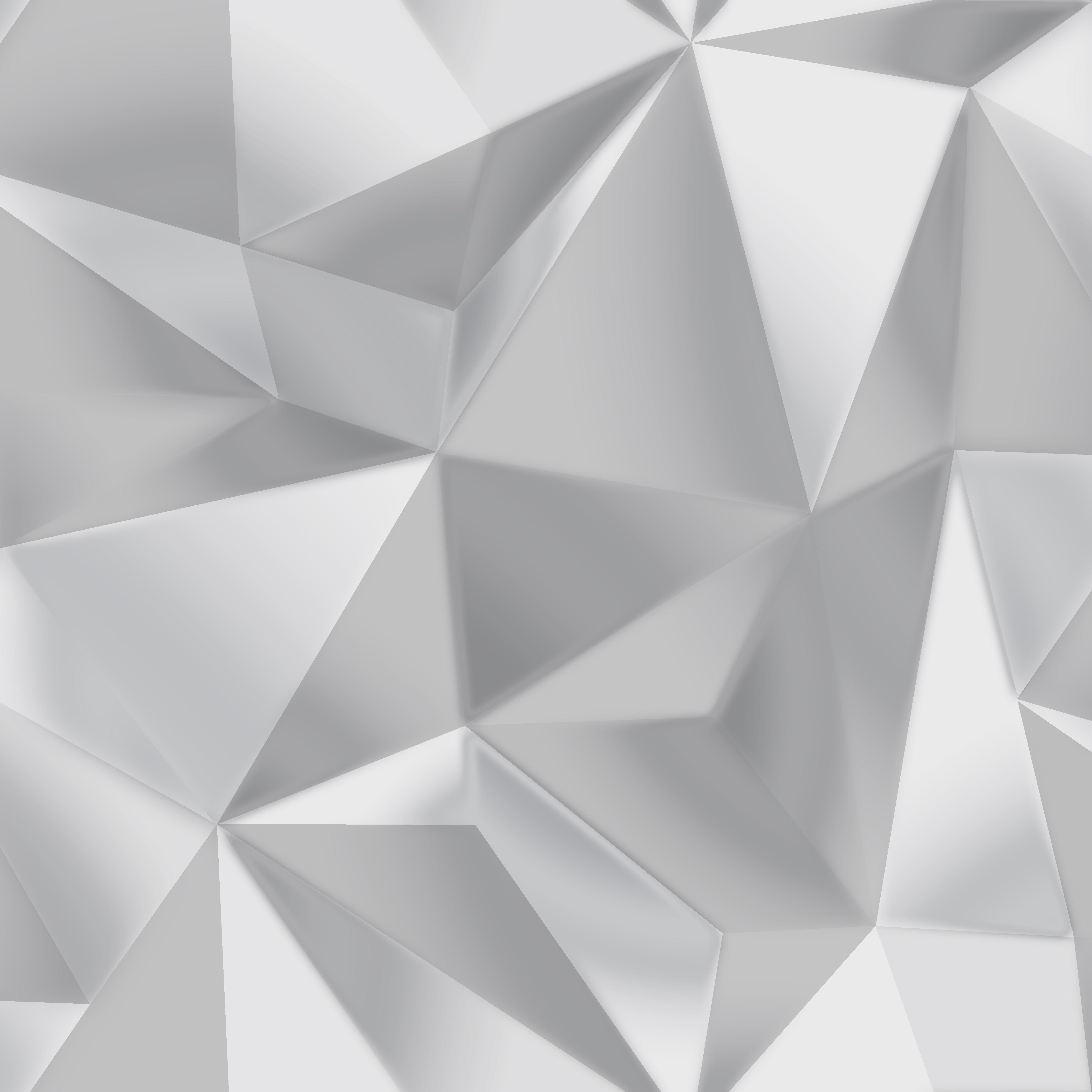 Debona Spectrum Silver Grey 3d Effect Geometric Shape Modern Wallpaper 5020 Geometric Triangle Wallpaper Geometric Pattern Wallpaper Geometric Triangle