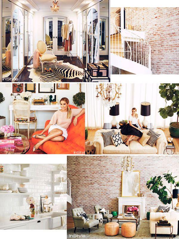 Lauren Conrad Interior Deco Boho Living Room Bright White ...