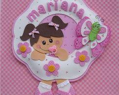 Guirlanda Bebê Rosa