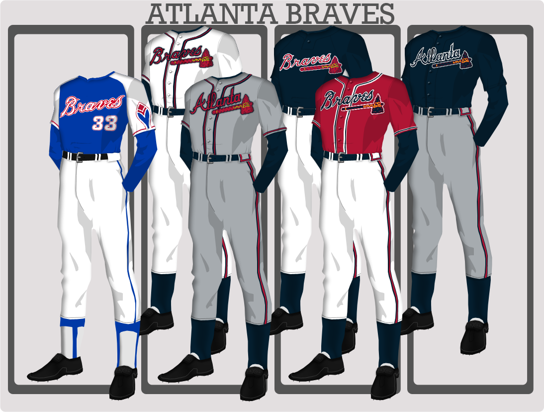 Atlanta Braves Uniforms Atlanta Braves Braves Wholesale Clothing Websites