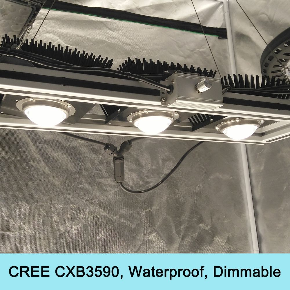 450W Cree CXB3590 COB Grow Light Dimmable Full Spectrum