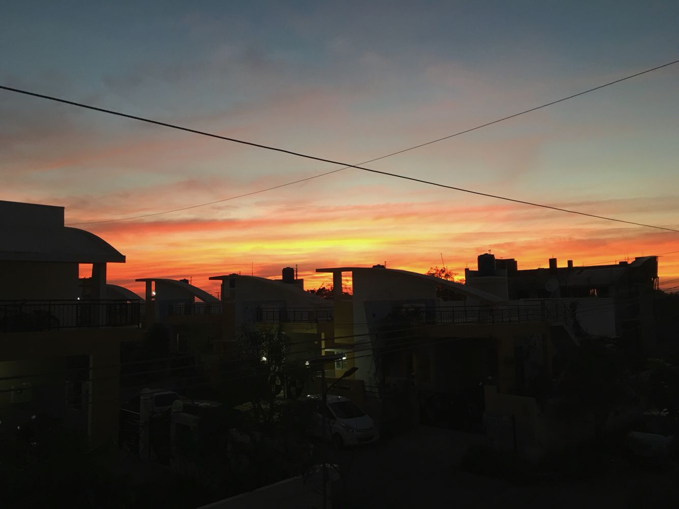 Sunset... # unedited #iphone6s