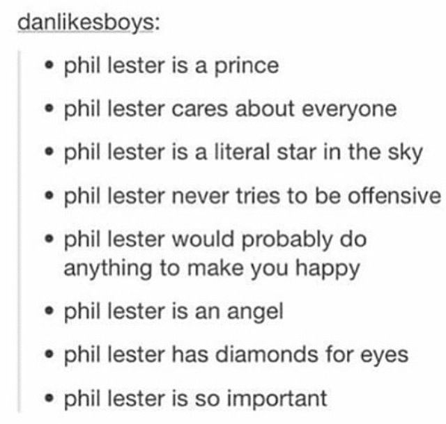 Phil Lester Is A Actual Ray Of Sunshine