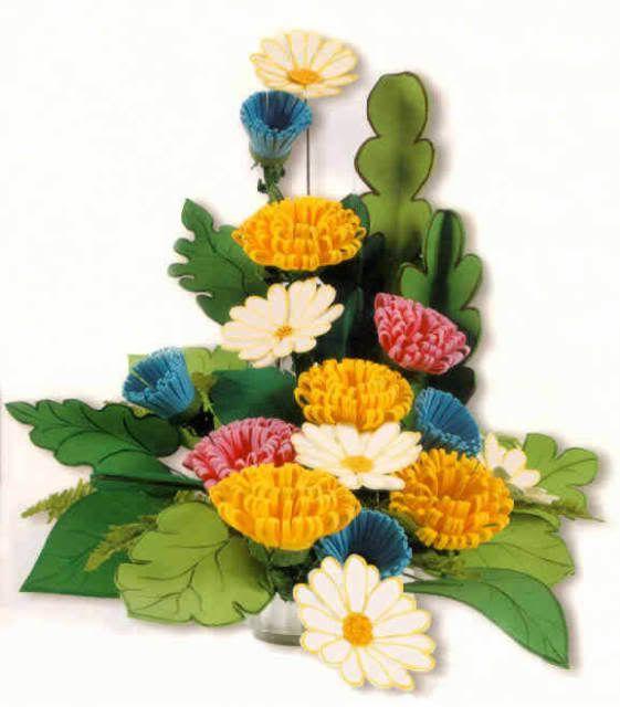 Arreglos de flores con foami - Imagui | flors | Pinterest