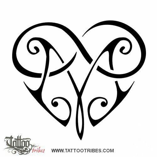Tattoo Hearts Valentines Day Herz Tattoo 4