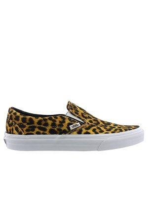 2226c4400a Vans Digi Leopard Classic Slip-On Trainers   Leopard  Vans  Slip-on