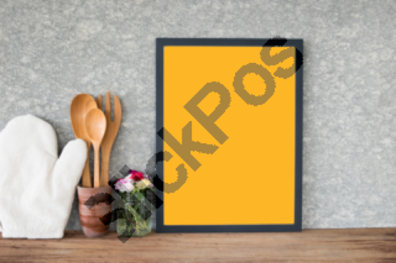 Background Black Blank Board Cafeteria Classic Concept Cooking Day
