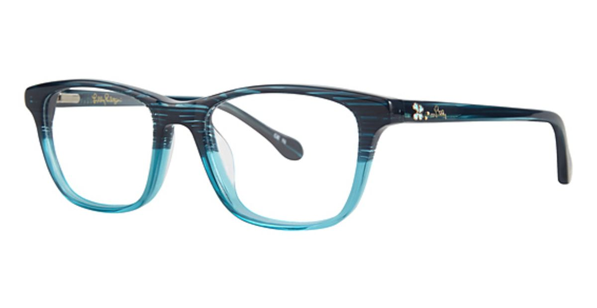 Lilly Pulitzer Bayberry Eyeglasses Frames – 35% off Authentic Lilly ...