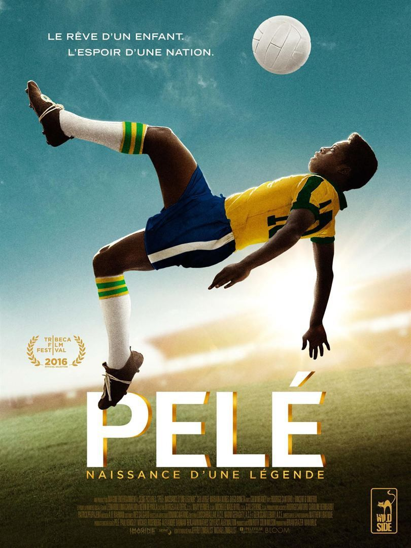 This biographical drama chronicles Pelé's meteoric rise