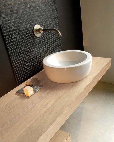 encimera baño madera - Buscar con Google | baños | Pinterest | Ideas ...