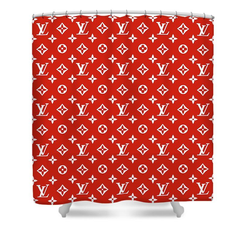 Louis Vuitton Supreme Shower Curtain For Sale By Supreme Ny