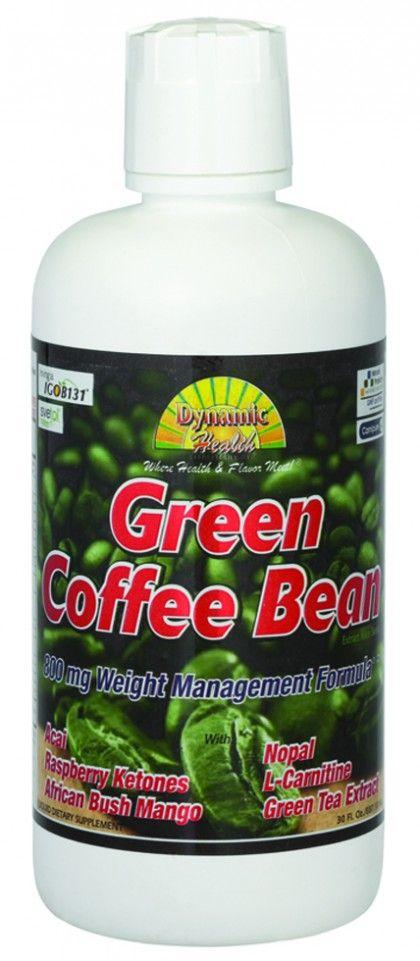 Dynamic health green coffee bean reviews