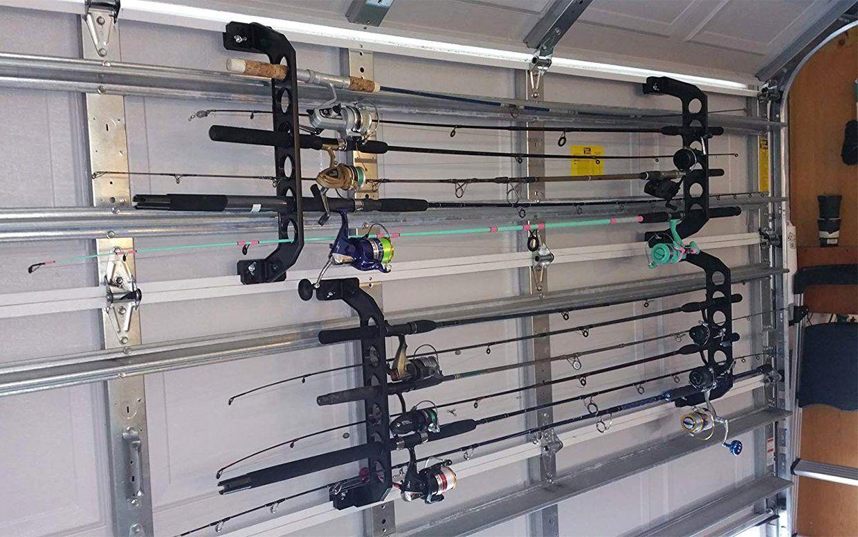 Pin On Fishing Pole Storage