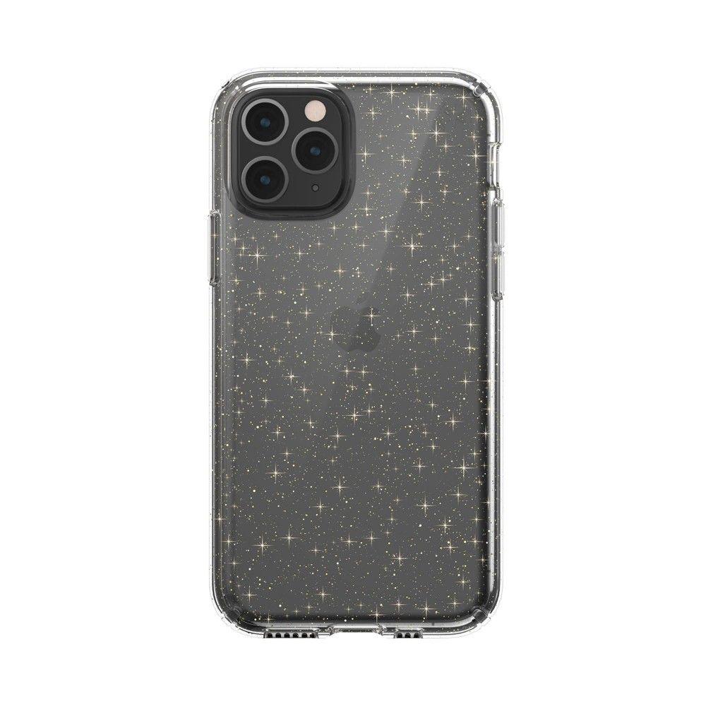 Speck Apple Iphone 11 Pro Presidio Clear Glitter Case Clear With Gold Glitter Glitter Case Iphone 11 Apple Iphone