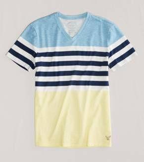 13f1db6af Mens T Shirts: Pocket, V Neck, Henley & Striped Mens Tees | American Eagle  Outfitters