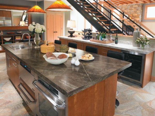 Wunderschöne Einrichtung mit Laminat u2013 100 Jahre Formica - küche aus holz