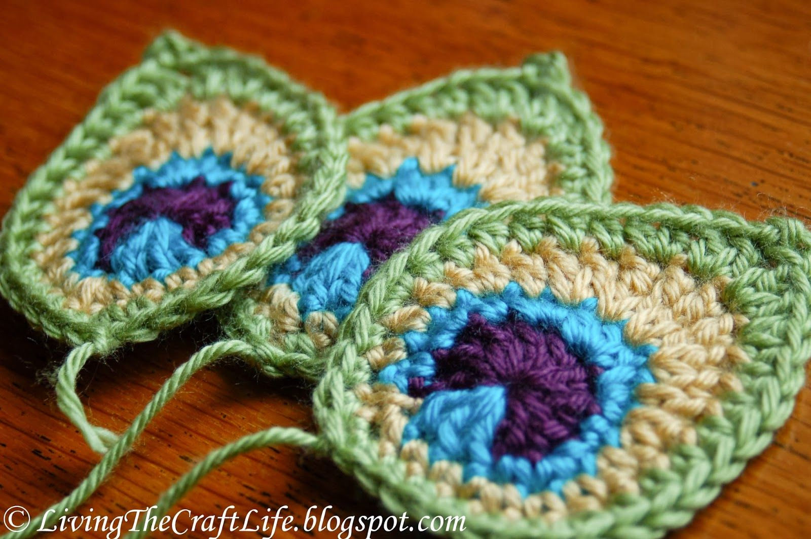 Pluma de pavo real de ganchillo, Tutorial - Crochet Peacock Feather ...
