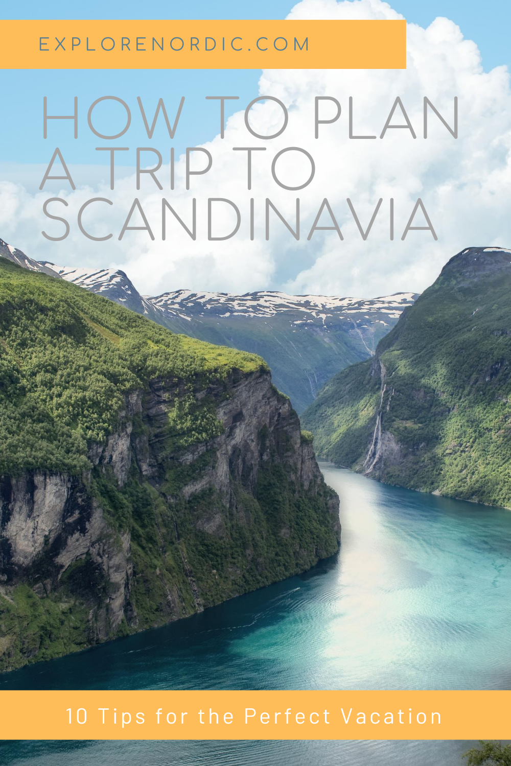 How To Best Plan A Trip To Scandinavia In 2020 Trip Scandinavia Perfect Vacation