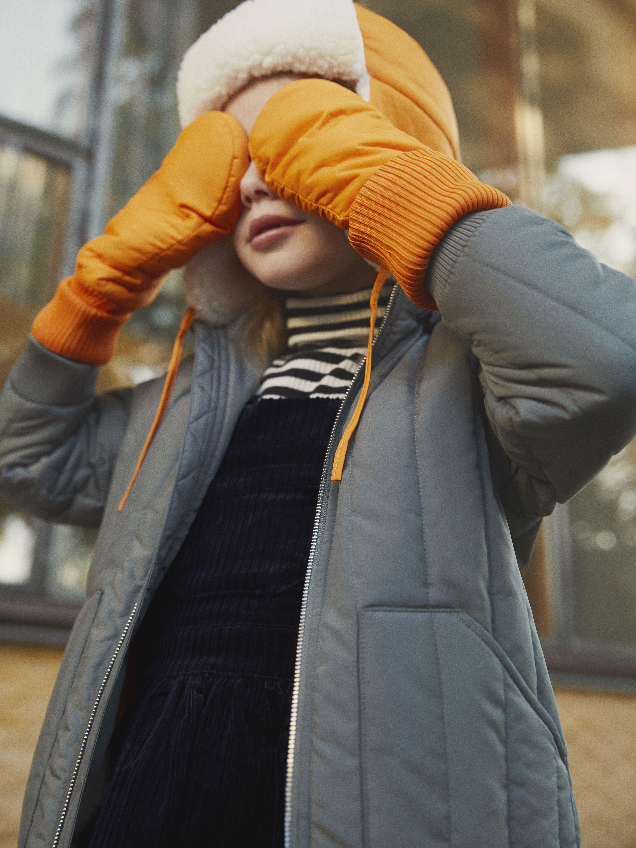 Quilted Coat Khaki Green Jackets Coats Arket Kids Outerwear Green Khaki Jacket Outerwear Jackets [ 3508 x 2631 Pixel ]