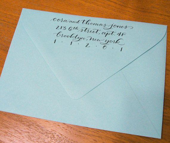 Hand lettered katie flourish style custom calligraphy