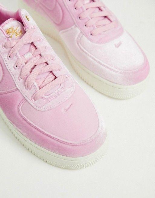Nike Air Force 1 '07 sneakers in Pink Velvet | Nike air