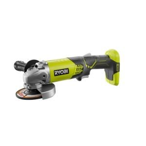 Ryobi 18 Volt One Cordless 4 1 2 In Angle Grinder Tool Only P421 The Home Depot Ryobi Tools Angle Grinder Ryobi