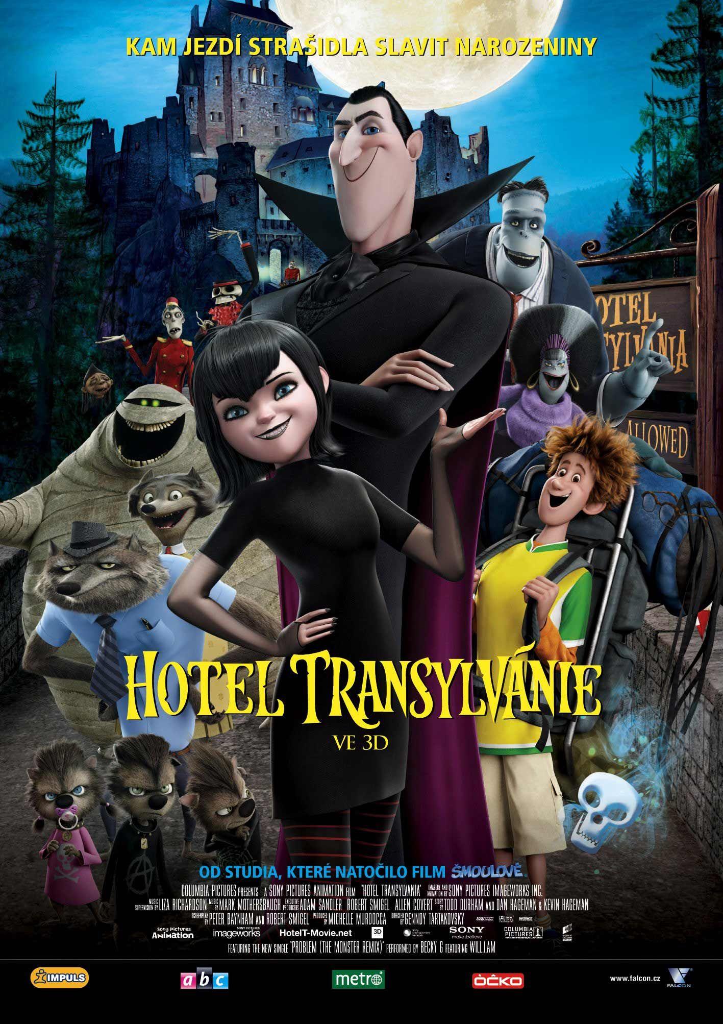Hotel Transylvania 2012 Czech Film Poster  Horray For -9496