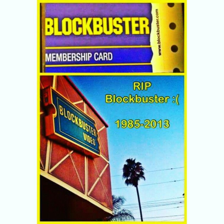 """#OnThisDay, 3 yrs ago, when we said #Farewell to #Blockbuster:)haha:) #Remember goin' to pick out a #Movie  and some Popcorn when  bored on a Friday night?!:)   According to my Post 3 yrs ago, the last #Movies I rented were """"Raging Bull"""" (yea, I know that's like really old, haha:) and """"Hangover 3"""":) haha:)   What #Movie did you rent last?!:)   Pic: #JamminJo 2016"""