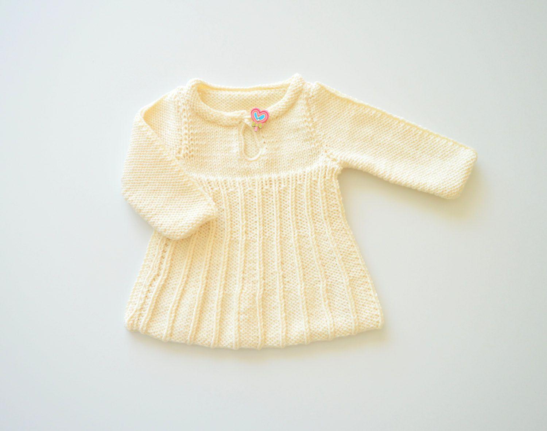 Vestido bebé niña 09260df26362