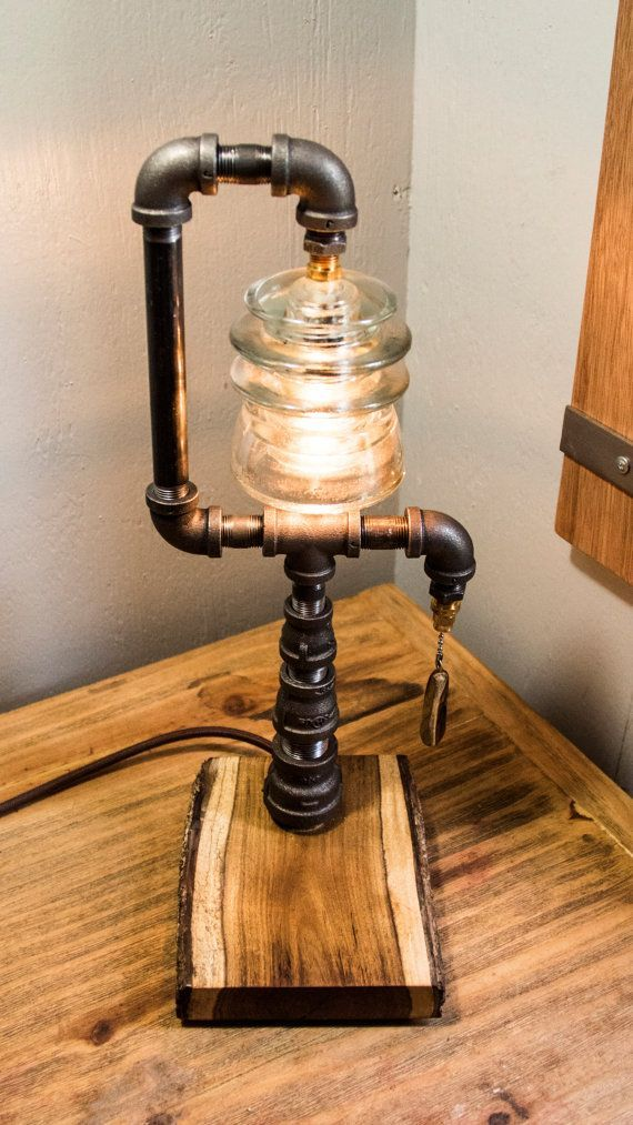 Awesome 16 Functional DIY Pipe Lamp Design Ideas