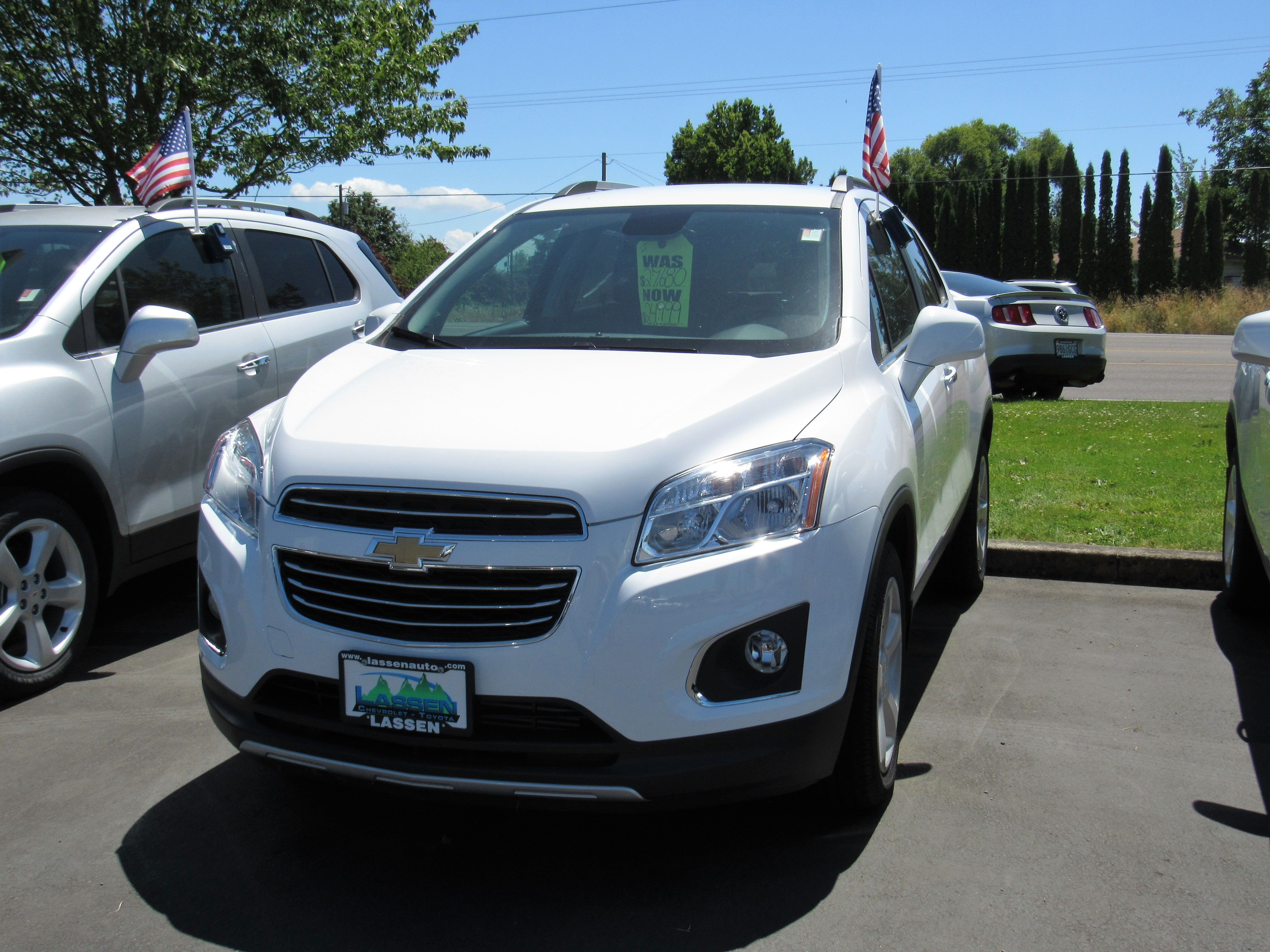 Call For Details 2015 Chevrolet Trax Stock # 5706 Lassen Chevrolet/Toyota  Albany, OR 97322