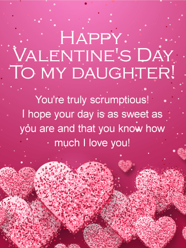 You\'re Scrumptious! Happy Valentine\'s Day Card for Daughter ...