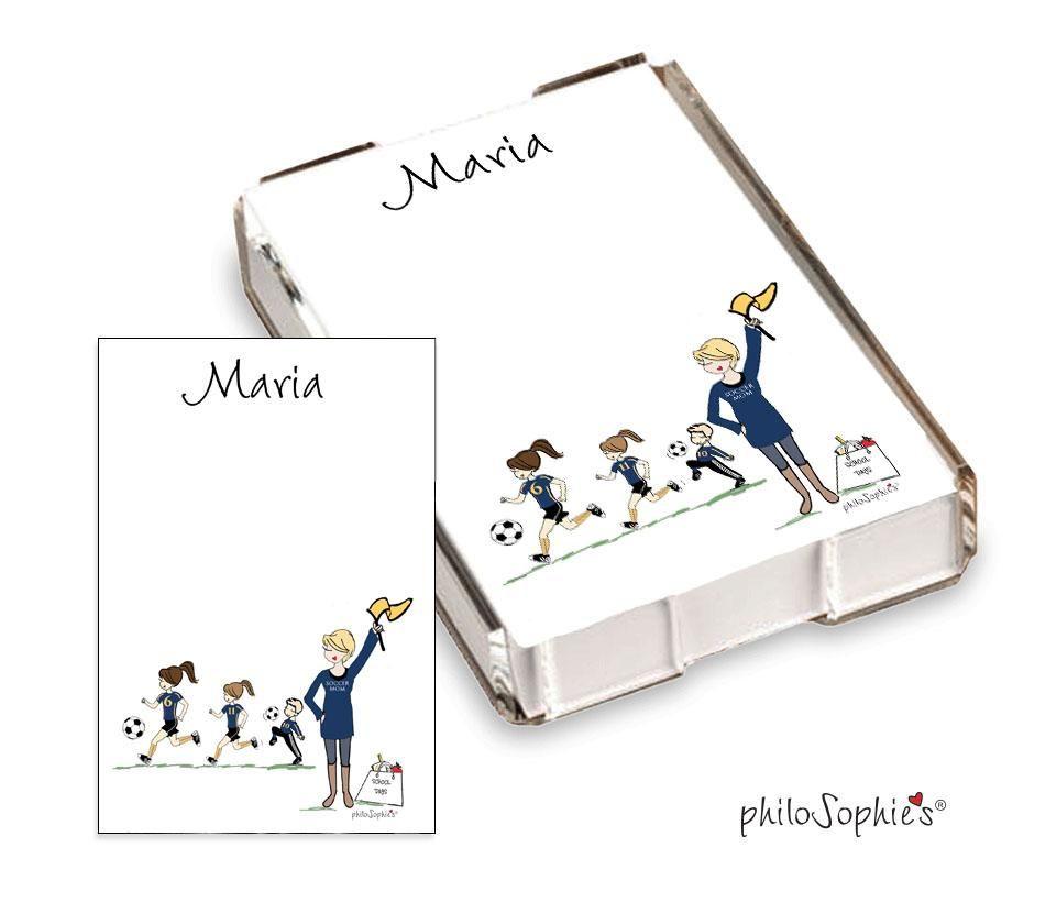 Soccer Mom Quick Notes – #1 Fan