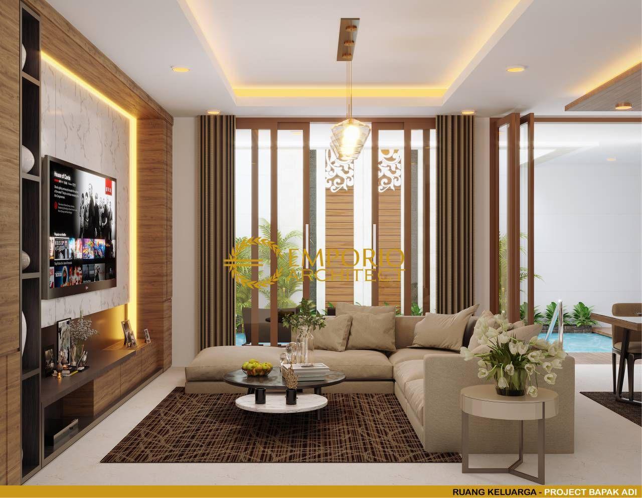 Mr Adi Modern House 2 Floors Design Bogor Jawa Barat Living Room Design Small Spaces Modern Bedroom Interior Floor Design Home design living room modern