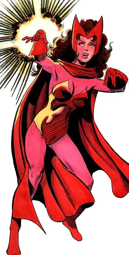 Marvel Comics Scarlet Witch
