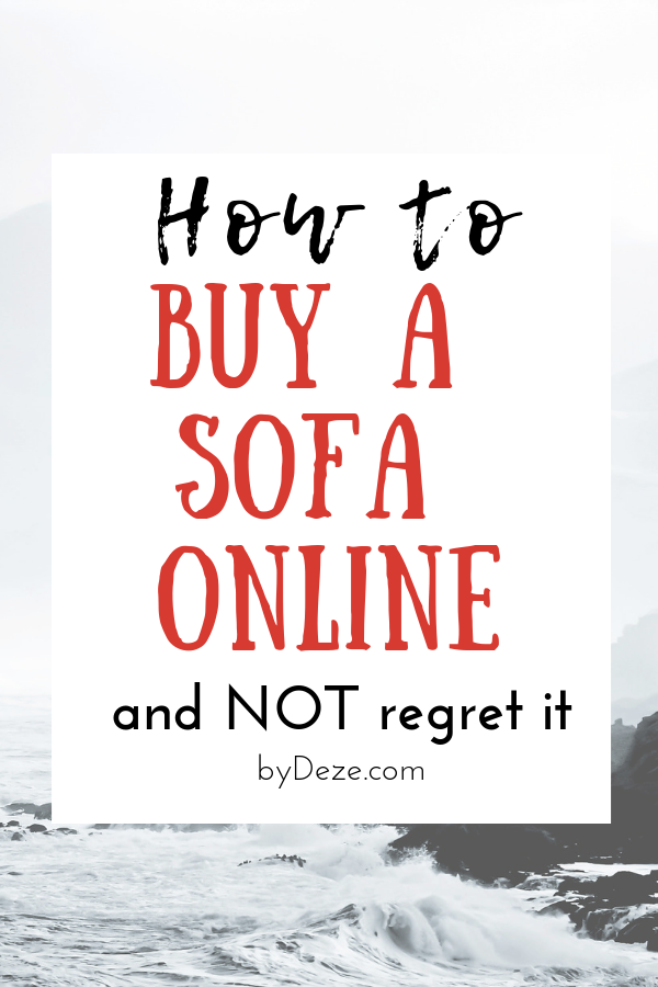 How to buy a budget sofa online and get it right (+ Round