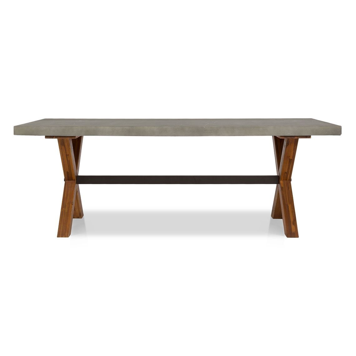 Havelock Outdoor Dining Table Cement Acacia Concrete Dining Table Outdoor Dining Chairs Dining Table