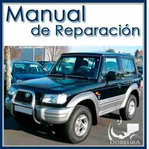 hyundai galloper manual de reparaci n y servicios manuales de rh pinterest com Hyundai Galloper 2001 Hyundai Galloper 2001