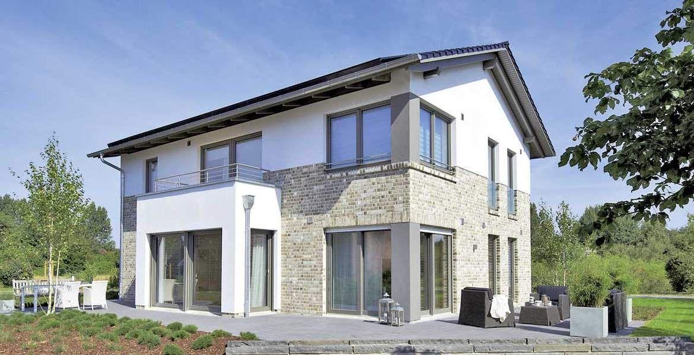 Musterhaus einfamilienhaus  WOHNIDEE-Häuser: Edition 425 WOHNIDEE-Haus - Musterhaus Bad ...