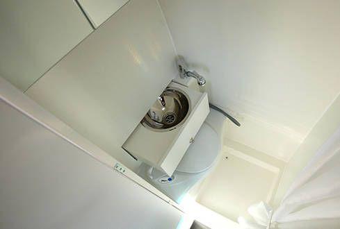 Nasszelle im Kastenwagen mit oder ohne Dusche Wohnmobil