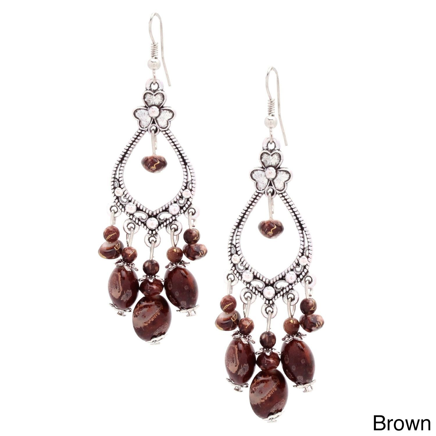 These clover chandelier earrings will give the perfect elegant chandelier earrings arubaitofo Images