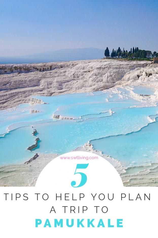 Find all the tips you need to help you plan your trip to Pamukkale Turkey here! I discuss when it's the best time to visit Pamukkale how to fly & drive there from Istanbul where to stay and what to do. #turkeydestinations #turkey #destinations #turkey #destinations #vacations
